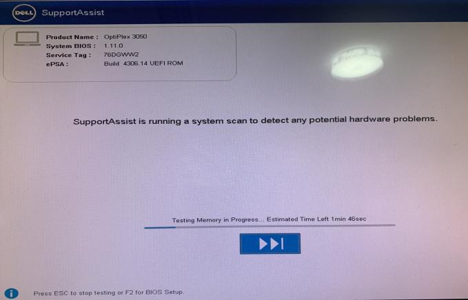 dell 电脑出现NO bootable devices found怎么解决
