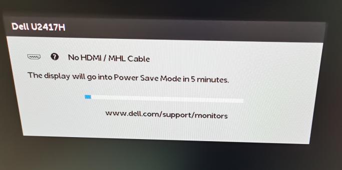 为什么显示屏会出现 DELL No DisplayPort Cable(无 DisplayPort 线缆)错误